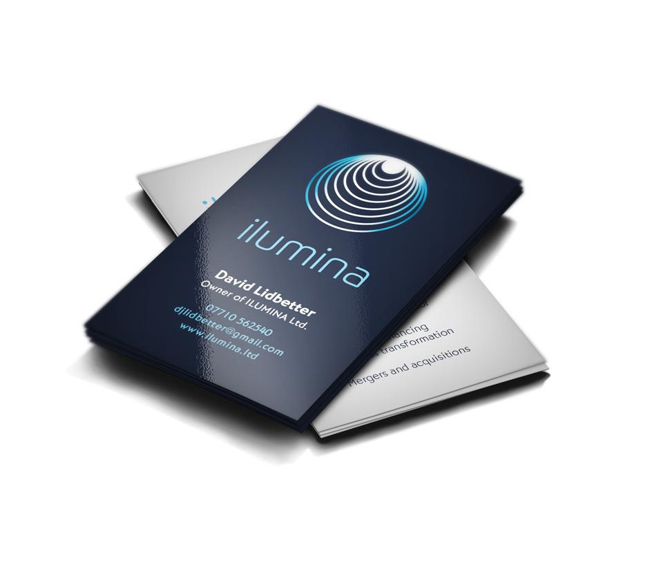 Executive Business Card Design