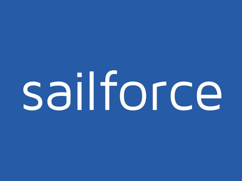 SailForce - Marine Sales Logo Design