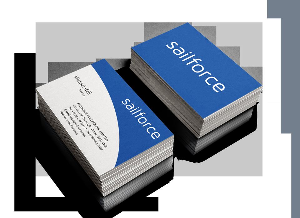 Sales Team Business Card Design