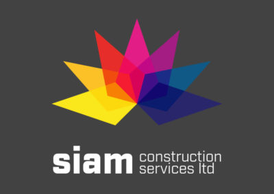Siam Construction Logo Design
