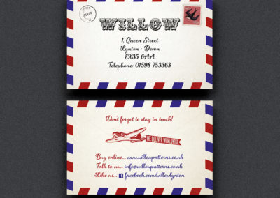 Vintage Shop Business Card Design