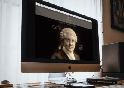 Normanton Chambers Barrister Website Design