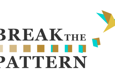 Break The Pattern Logo Design