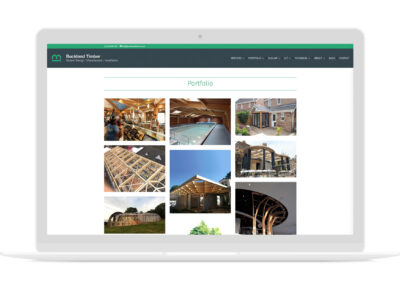 Buckland Timber Website Design