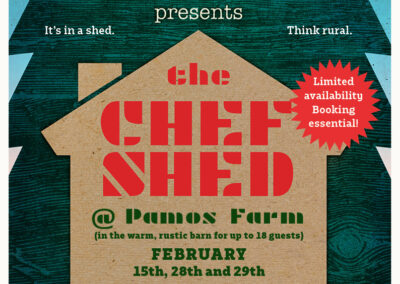 Tim Maddams Chef Shed Poster