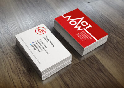 Medical Event Cover Logo Business Card