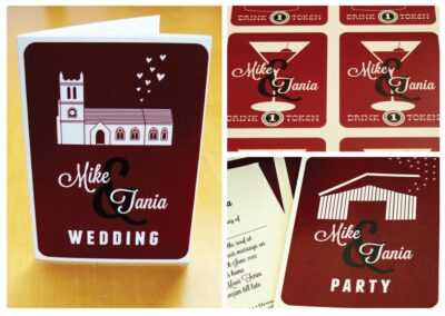 Bespoke Wedding Invitation Design