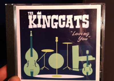 Kingcats Rock n Roll CD Design