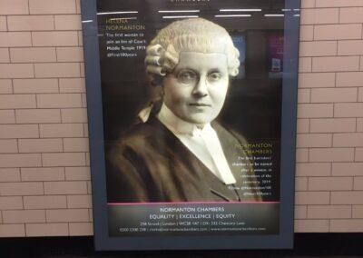 Normanton Chambers Underground Poster