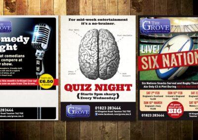 Pub Poster Design