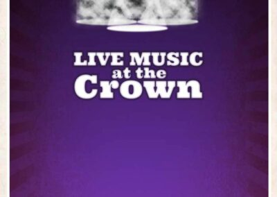 The Crown Live Music Poster