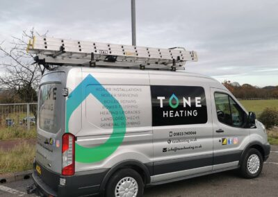 Tone Heating Logo Design